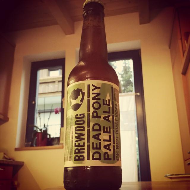 #beeroftheday: #brewdog #deadpony