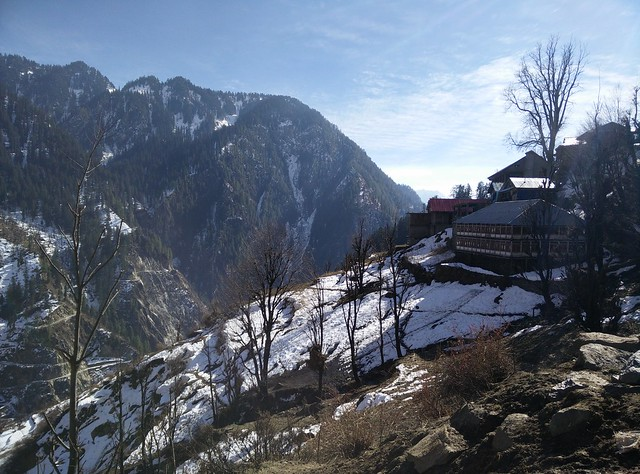 First glimpse of Malana. Credits - Akshay Maggu