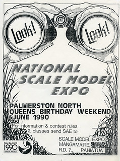 National Scale Model Expo 1990 in Palmerston North