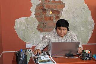 Percy Rojas Quispe, Memory Area at EPAF