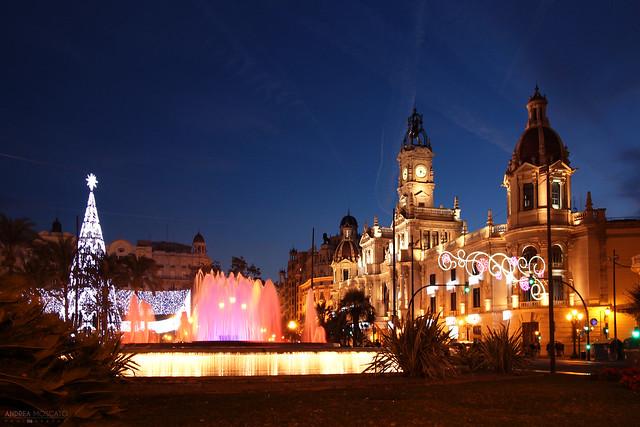 Plaza Del Ayuntamiento - València, Spain