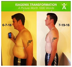 Life changing transformation in just over a month!!!This is my cousin Adam, one of my closest friends and beloved family.  Nothing makes my heart happier than to see such success in his 1st month's transformation!  #YesYouCan #HealthyFamilyFirst #Isagenix