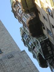 Ansonia Apartment Building Detail 3879