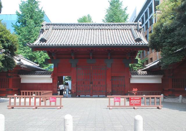 Photo:Aka mon (赤門) Red Gate By microwalrus