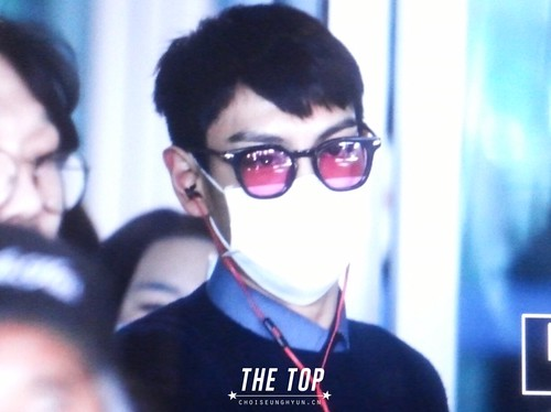 Big Bang - Incheon Airport - 07dec2015 - The TOP - 02