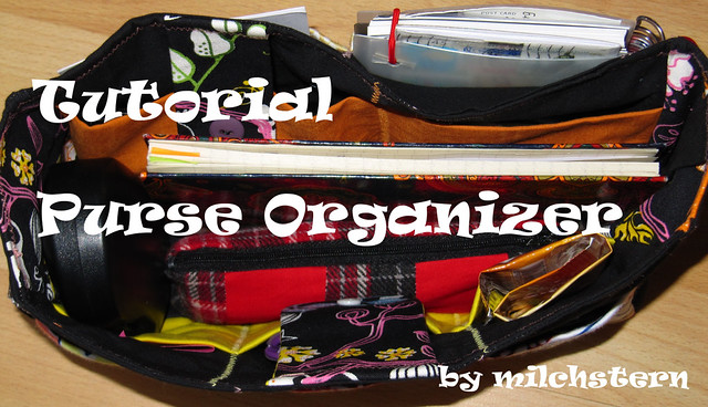 Tutorial Purse Organizer