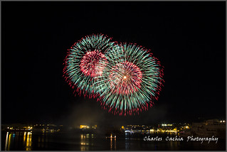 Malta International Fireworks Festival 2015.