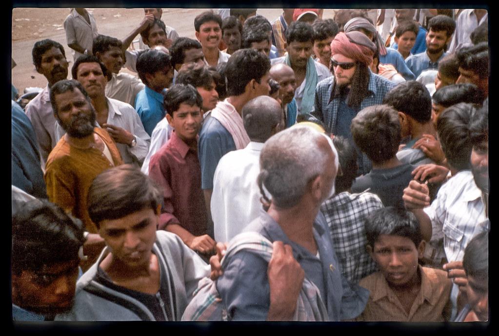 Voyager en Inde à vélo - Savourer un bon bain de foule