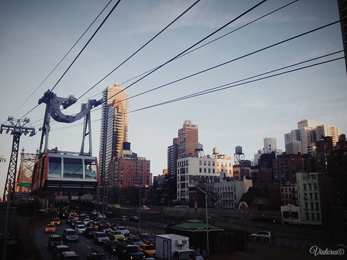 The Roosevelt Island Tram. New York. USA