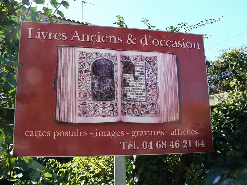 oude boeken in le Somail