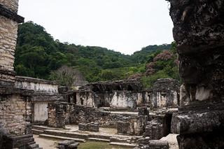 Palacio görüntü. mexique chiapas