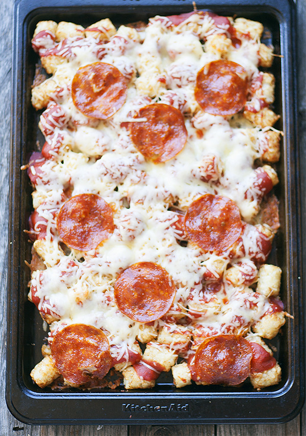 pizza totchos