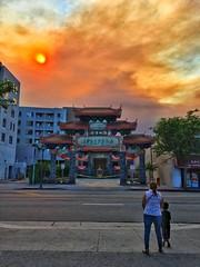 Fire Sun - Chinatown Los Angeles