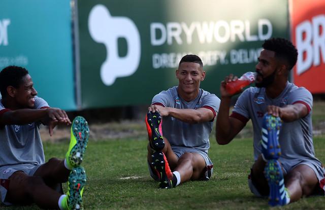 Fluminense: Elenco tricolor pega pesado em treino físico nas Laranjeiras