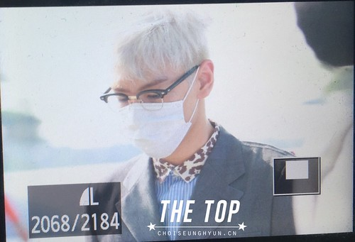 Big Bang - Incheon Airport - 07aug2015 - The TOP - 01