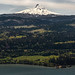 Mount Hood and the Columbia River Gorge by brianstowell