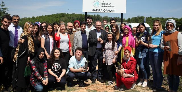 Üsküdar Üniversitesi Hatıra Ormanı Oluşturuldu 2
