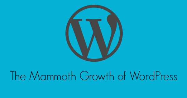 The Mammoth Growth of WordPress