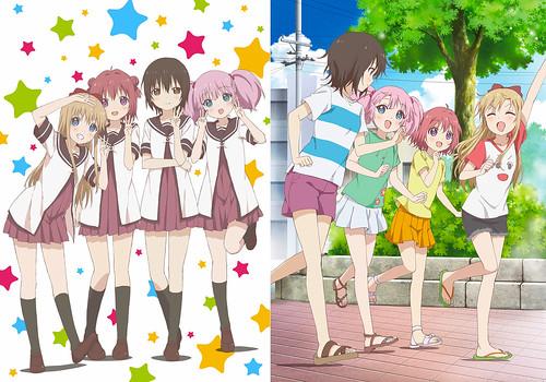 150608(3) -『輕鬆百合』電視動畫第3期《ゆるゆり さん☆ハイ!》於10月開播、OVA續集情報也揭曉!