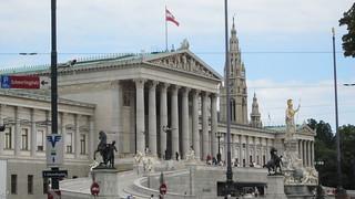 Parlamento de Viena (Austria)