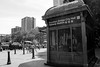 Brooklyn Bridge Station bw