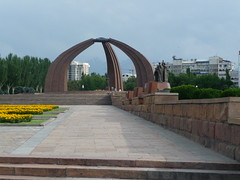 monument in Victory square