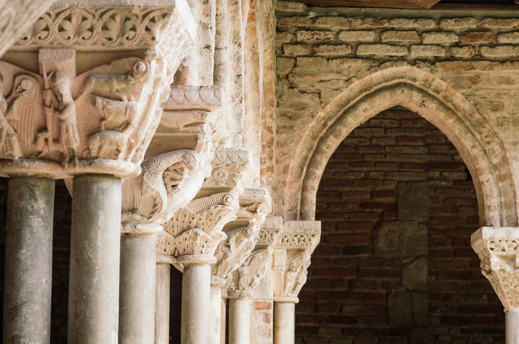Le cloître de Moissac - Carnet de voyage France