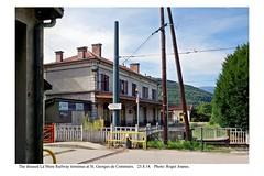 St. Georges de Commiers. Disused La Mure Railway station. 25.8.14 (2)