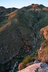 1609 Sunset near the end of the Pontatoc Ridge Trail