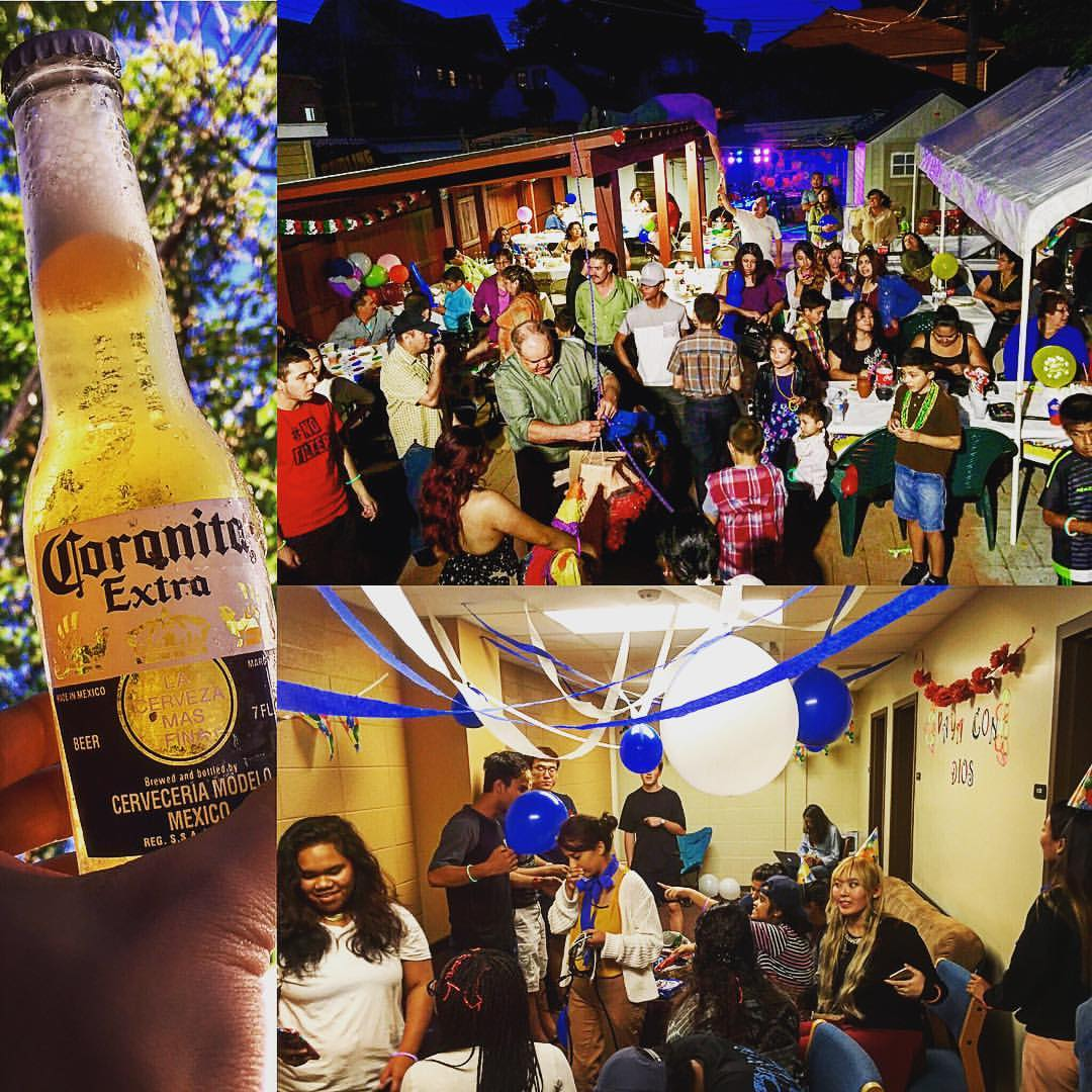 Feel like I'm back to a student again..! A great time with great people. #milwaukee #america #university #cardinalstritchuniversity #backpacker #backpacking #backpack #photo #photography #photographer #party #corona #student