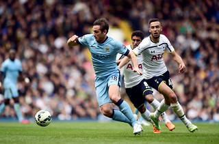 Spurs 0-1 City: Match shots