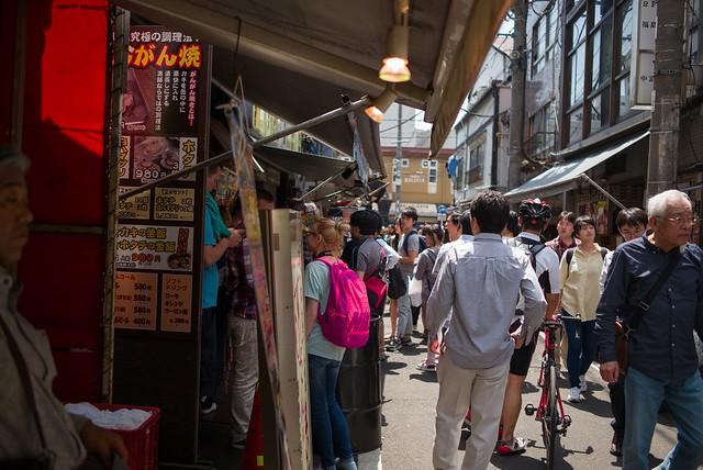 築地場外市場 - Tsukijishijo