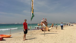Image of Marina Beach Dubai near Dubai.