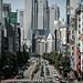 Sunny Street in Shinjuku by hidesax