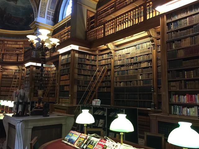 La bibliothèque de Assemblée nationale