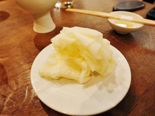 Benu restaurant shaved milk and honey