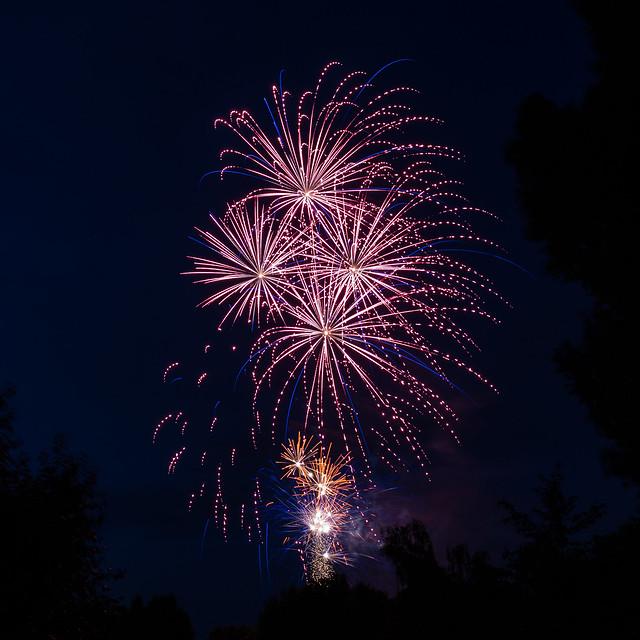 Frankfurt Hoechst Schlossfest '16 Feuerwerk