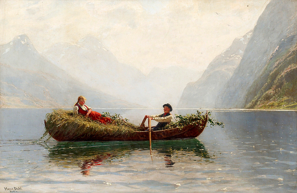 Sognefjord by Hans Dahl