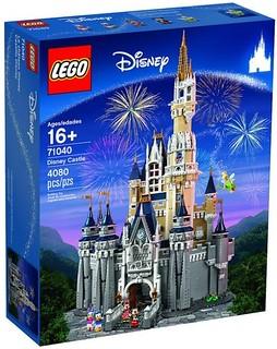 【宣傳影片、完整官圖更新】LEGO® 71040【迪士尼樂園城堡】The Disney Castle