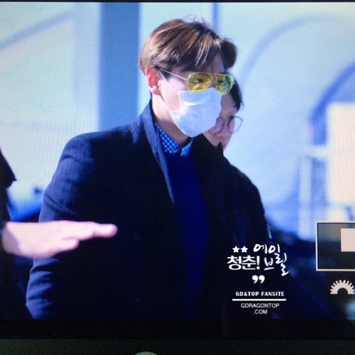 TOP - Incheon Airport - 13mar2015 - Avril - 01