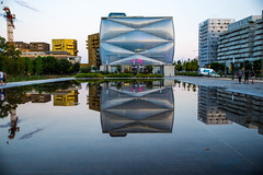 """Building """"Le Nuage"""" by  Philippe Starck, Montpellier, FRANCE"""