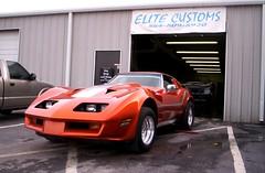 Wayne Hadock's Corvette