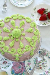 Lady Lace Cake