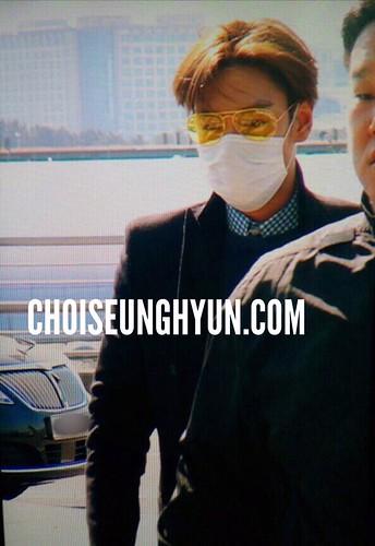 TOP - Incheon Airport - 13mar2015 - Choidot - 02