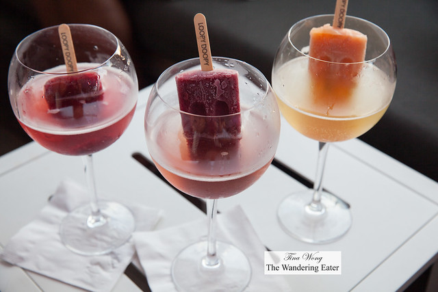 Our boozy popscicle prosecco drinks