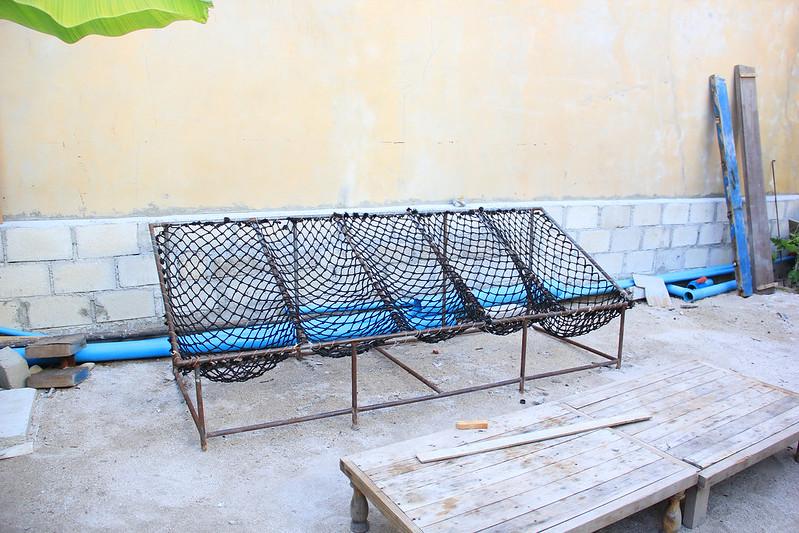 Maldives traditional hammock