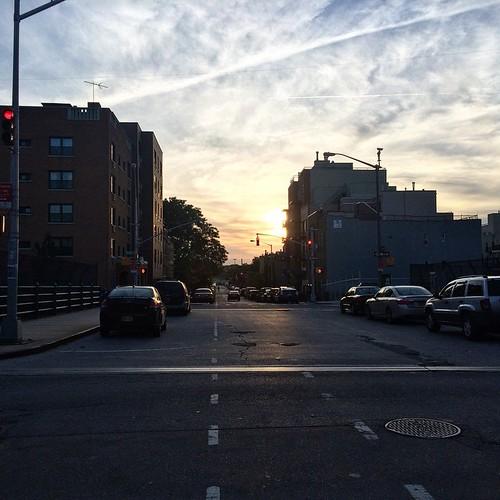 Sunset commute latergram