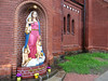 At St.Simon and St.Alena Church in Minsk, Belarus. May 22, 2015