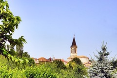 Eglise de Sauzet - Photo of Lascabanes