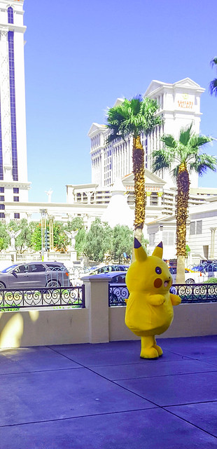 Pokeman on the Strip Las Vegas